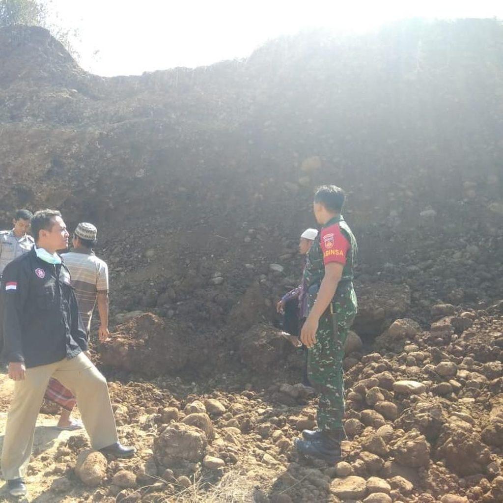 Pekerja Galian Tewas Tertimpa Longsor di Jepara