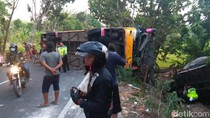 Dua Peristiwa Kecelakaan Terjadi di Jalur Jombang-Babat