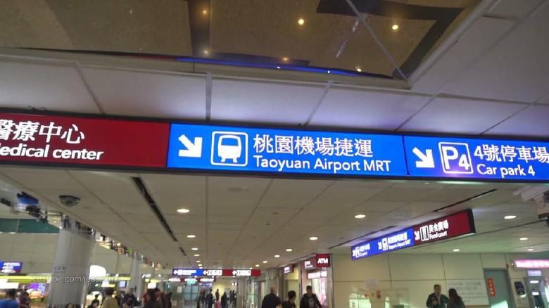 Bandara Internasional Taoyuan, Taiwan.