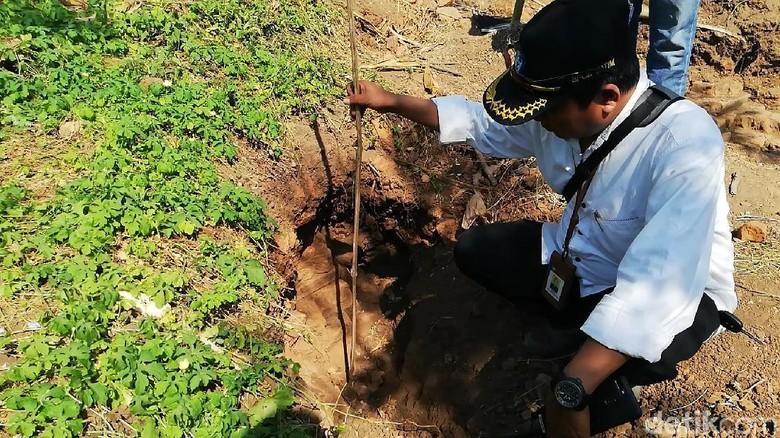 Petugas BPCB Jatim Datangi Lokasi Situs yang Ditemukan di Pasuruan