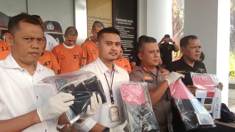 Polisi Tangkap Komplotan Tuyul Ojek Online Modus Order Fiktif