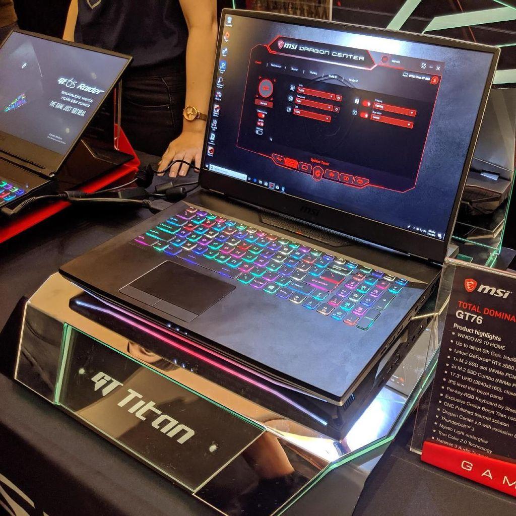 Prestige 15, Laptop untuk Para Konten Kreator