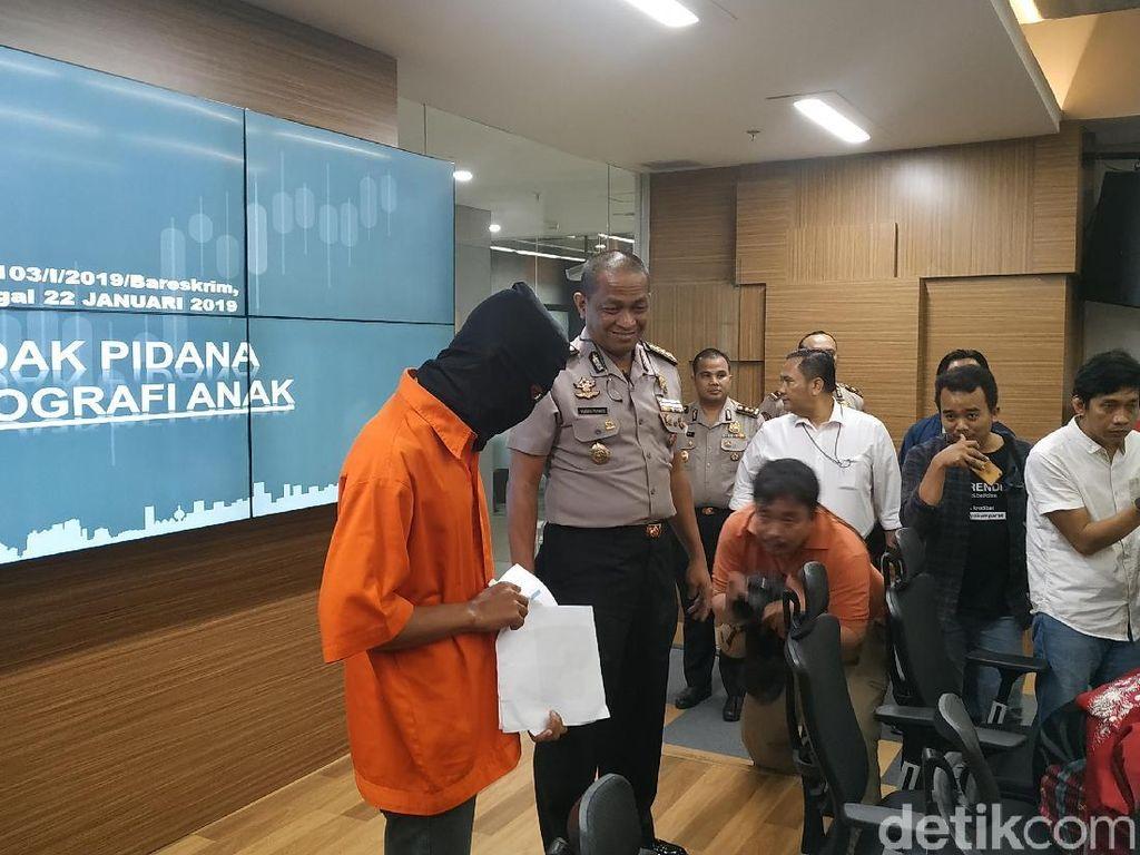 Bejat! Napi di Surabaya Cabuli 50 Lebih Anak Via Medsos