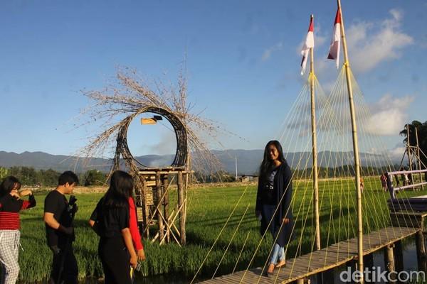 Mamasa Orchid terletak di Desa Tondok Bakaru, Kecamatan Mamasa, Kabupaten Mamasa (Abdy/detikcom)
