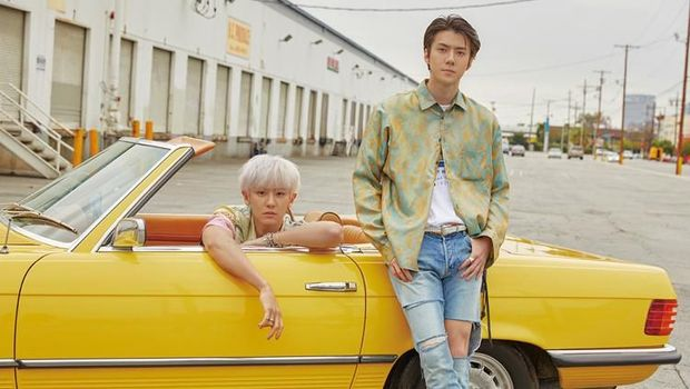 Debut Glamor EXO-SC dalam Video 'What a Life'