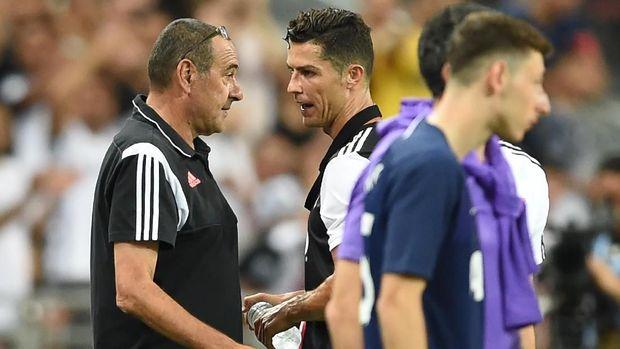 Ronaldo Segera Berdamai dengan Sarri