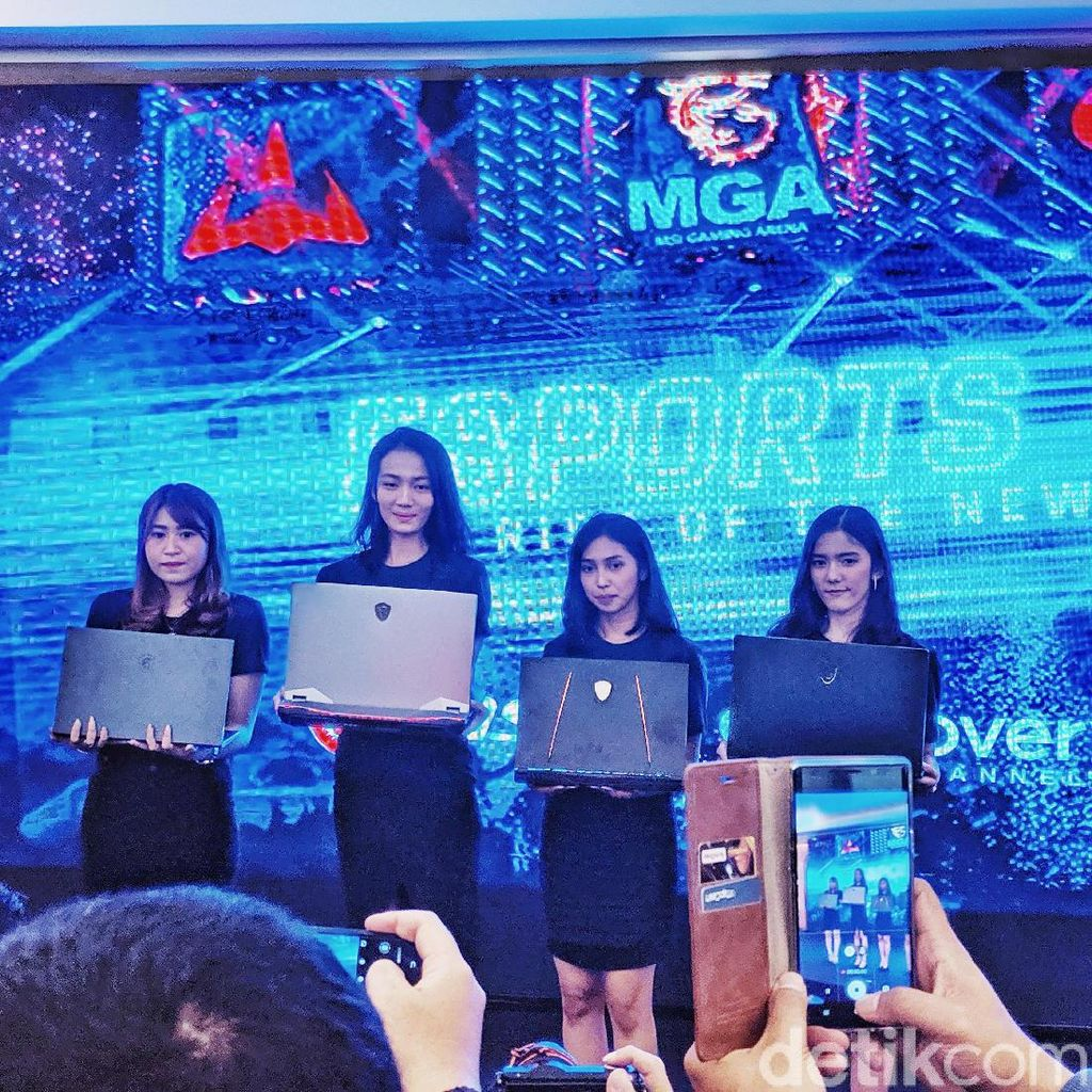 Tiga Laptop Gaming Serbu Indonesia