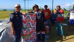 Bantuan 13 Ton Logistik Dikirim untuk Korban Gempa Halmahera