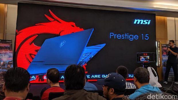 MSI Bawa Laptop untuk Konten Kreator
