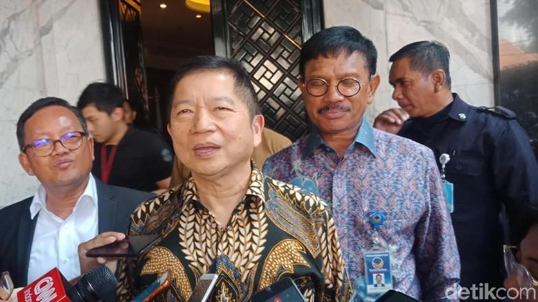 Giliran Ketum PPP Sowan Surya Paloh, Sempat Bahas Kursi Ketua MPR