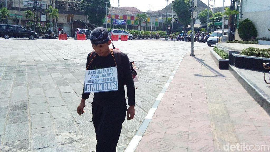 Saat Lilik Gantikan Nazar Amien Rais Jalan Kaki Yogya-Jakarta