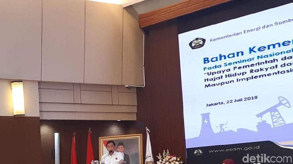 Jonan Beberkan Risiko Bisnis Migas di Depan Pejabat BPK
