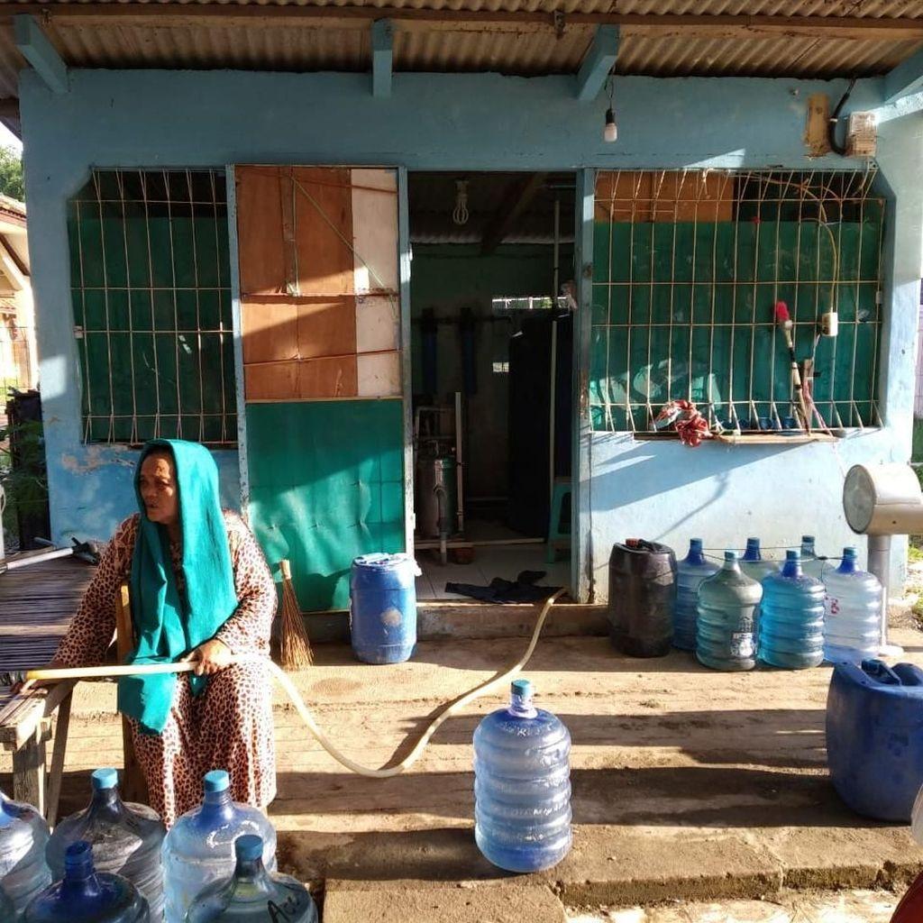PHE ONWJ Bangun Instalasi Penampungan Air di Desa Sedari Karawang