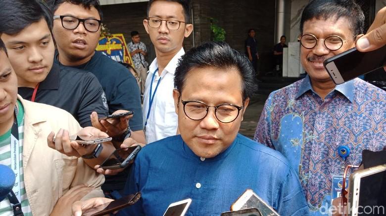 Temui Surya Paloh, Cak Imin Tepis Bahas Kursi Ketua MPR