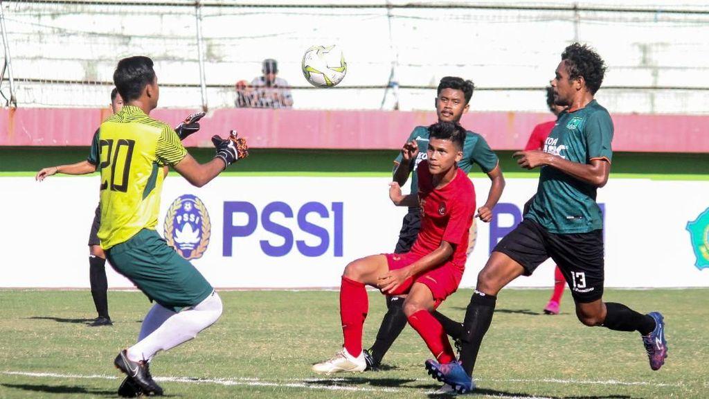 Laga Ujicoba: Timnas U-19 Bantai Persekabpas 4-0