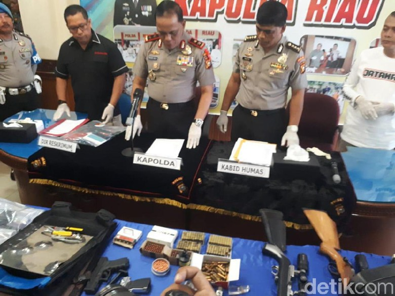 Daftar Kejahatan Bandar Narkoba Satriandi yang Tewas Ditembak di Riau