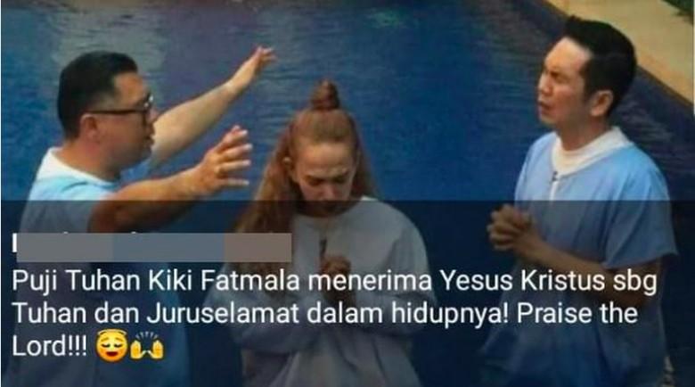 5 Fakta Kiki Fatmala yang Dikabarkan Pindah Agama/Foto: Istimewa