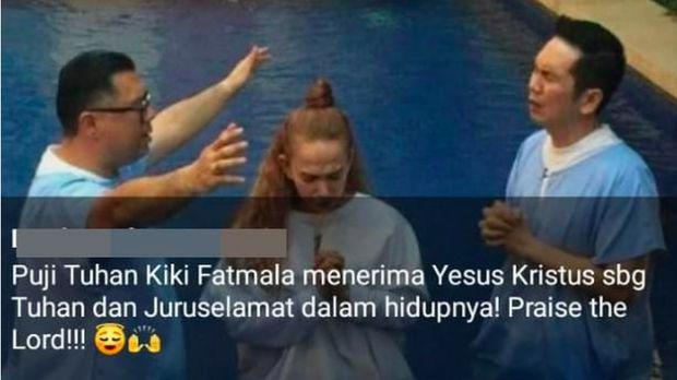 Kiki Fatmala Ogah Komentari Kabar Pindah Agama, Teman Menghargai
