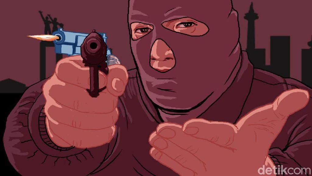 Polisi Kantongi Identitas Begal Sadis Tembak Pria Depan Istri di Sumsel