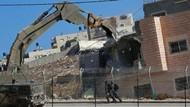Potret Israel Hancurkan Permukiman Palestina di Kawasan Tepi Barat