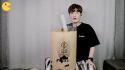 Unik! Youtuber Asal Korsel Ini Bikin Sendiri Makanan Jumbo untuk Mukbangnya