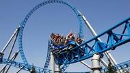 Naik Roller Coaster, Wanita Ini Terbang & Jatuh ke Tanah
