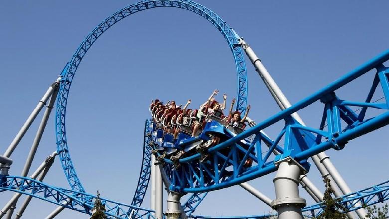 Ilustrasi roller coaster (iStock)