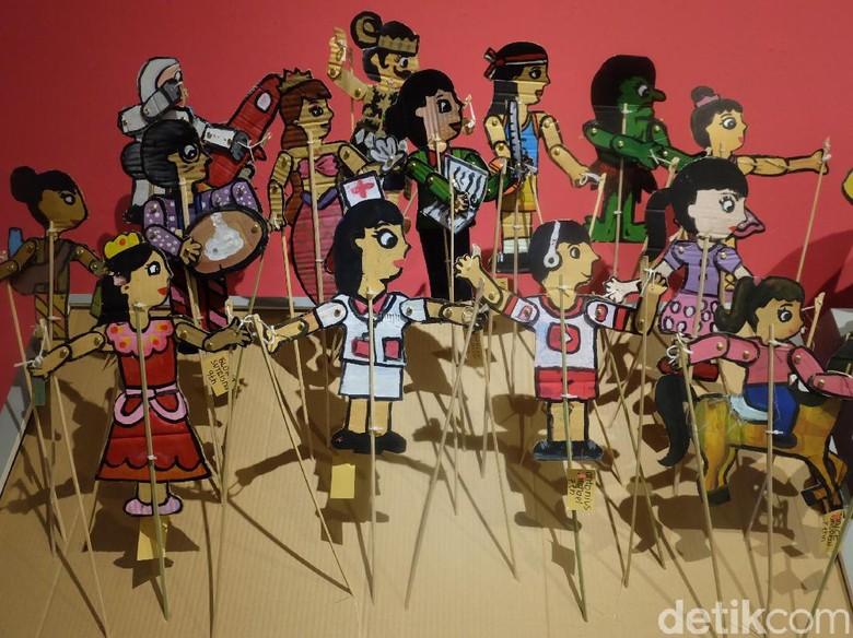 Peringati Hari Anak Nasional, Festival Seni Rupa Anak Indonesia Dibuka Foto: Tia Agnes/ detikHOT