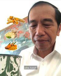 Jokowi Minum Jamu Ini Sampai 3 Kali Sehari, Apa Ya