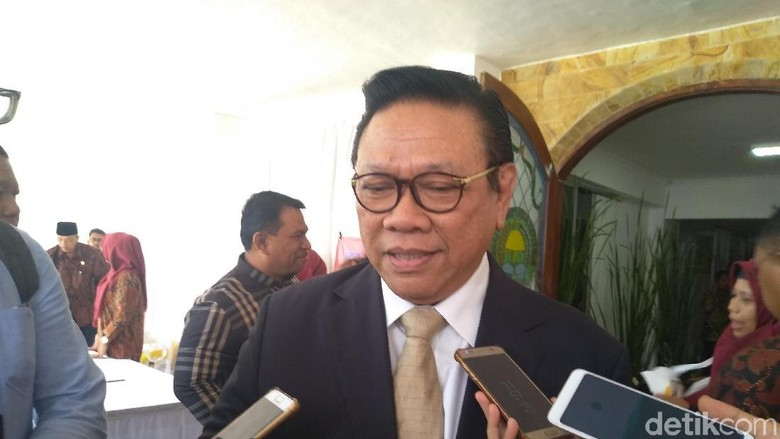 Agung Laksono Dorong Zainudin Amali Masuk Kabinet Jokowi