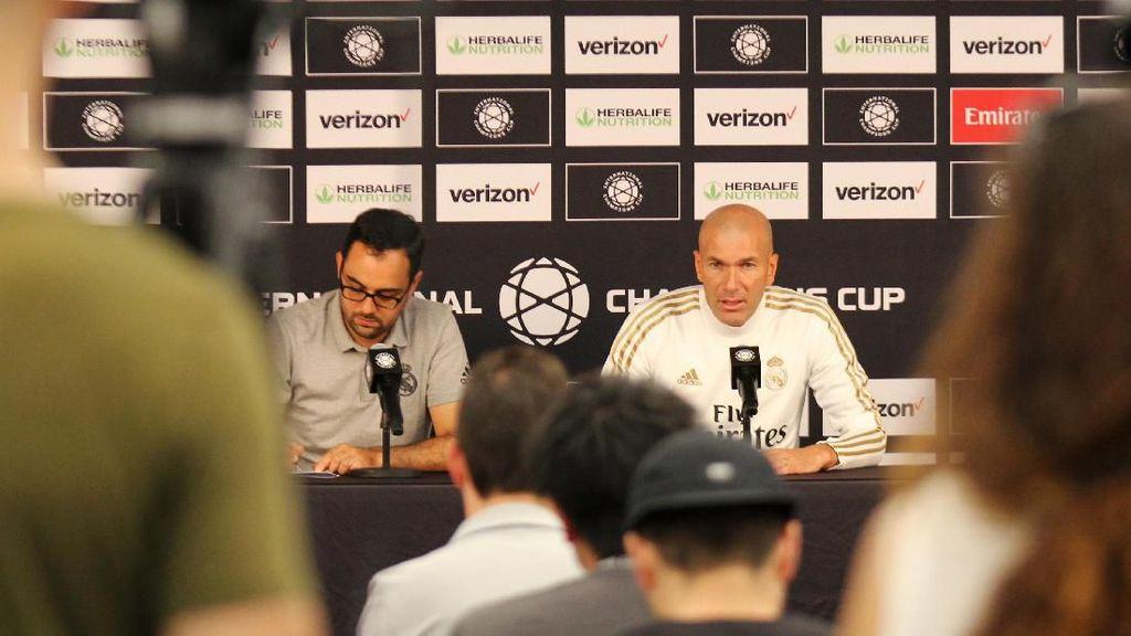 Zidane: Saya Bukannya Tidak Mengormati Bale