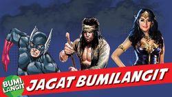Bumilangit Bocorkan Komik Patriot X di 2021, Siapa Saja Jagoannya?