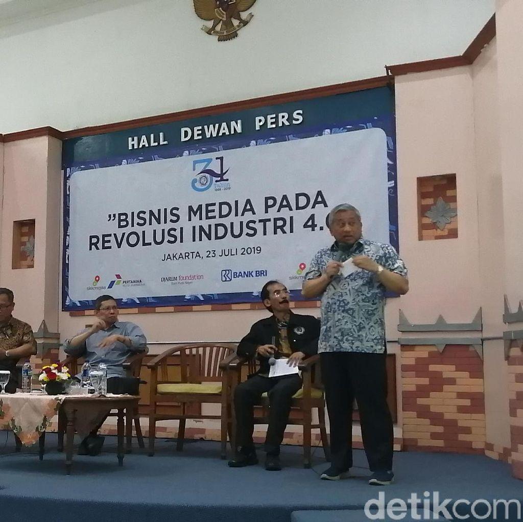 Ketua Dewan Pers Bicara Tantangan Media Hadapi Revolusi Industri 4.0