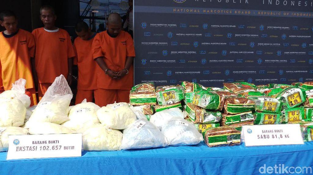 BNN Ungkap Modus Peredaran Narkoba Malaysia-Indonesia