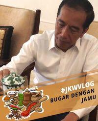 Jokowi Rutin Minum Racikan Kunyit, Jahe dan Temulawak, Ini Manfaat Sehatnya