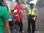 Lawan Arus, 122 Pemotor di Jaktim Ditilang