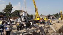 2 Kendaraan Terguling di Underpass Kentungan, Menteri PUPR: Truk Nyelonong