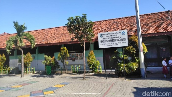 SDN Simomulyo I Surabaya/Foto: Deny Prastyo Utomo