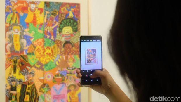 Main-main di Festival Seni Rupa Anak Indonesia