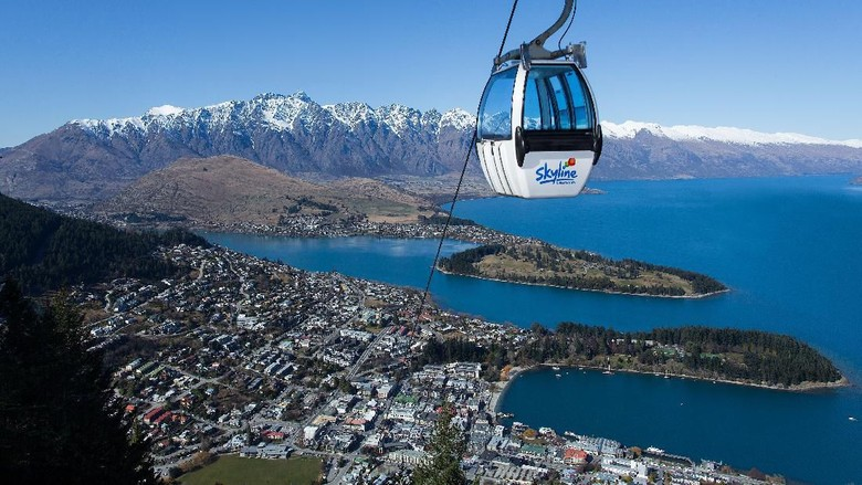 Skyline di Queenstown (Tourism New Zealand)