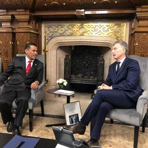 Mentan Temui Presiden Argentina, Bahas Ekspor Buah