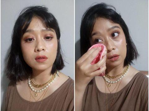 Mencoba Handuk Pembersih Makeup Harga Rp 300 Ribuan Vs Rp 90 Ribuan