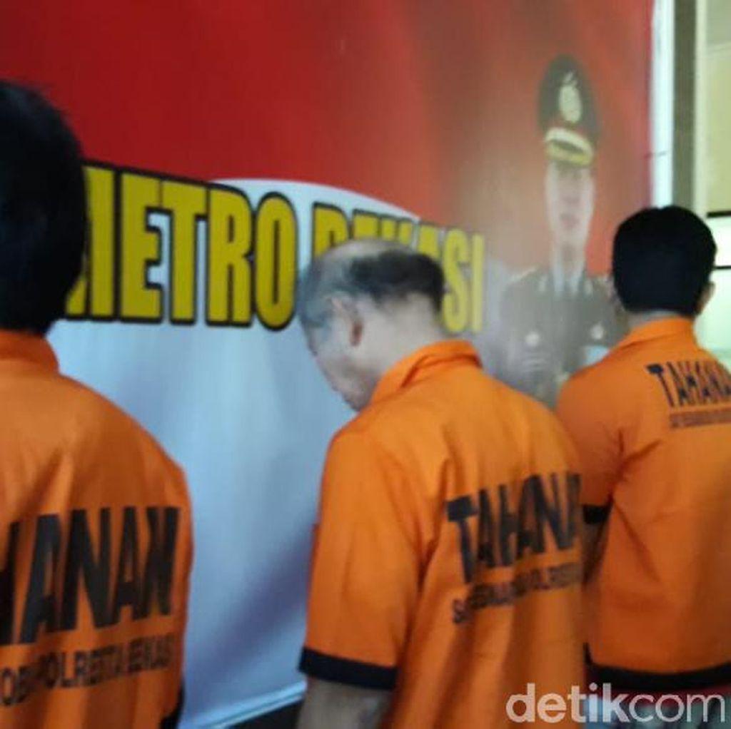 Polisi Tangkap 3 Orang Sindikat Pengedar Sabu di Bekasi