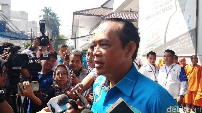 Deputi Pemberantasan BNN Irjen Arman Depari (Farih Maulana/detikcom)