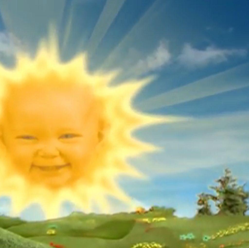 Viral Bayi Matahari Teletubbies Punya Anak, Benarkah?