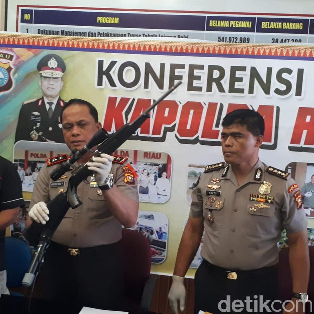 Bandar Narkoba yang Tewas Dalam Baku Tembak di Riau Pecatan Polisi