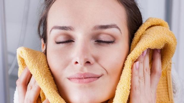 ilustrasi perawatan wajah, ilustrasi kecantikan