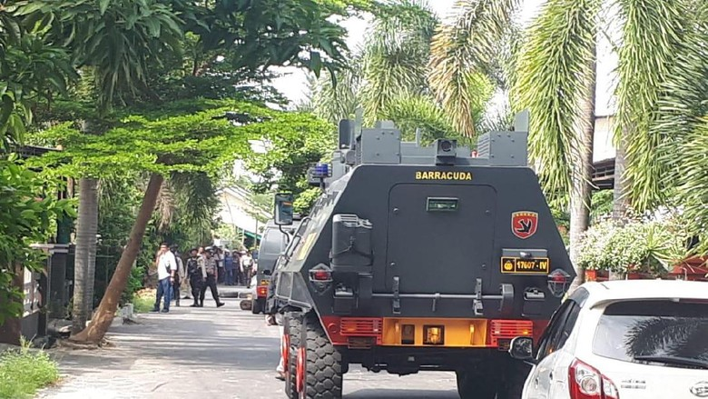 Begini Mencekamnya Baku Tembak Polisi-Bandar Narkoba di Riau