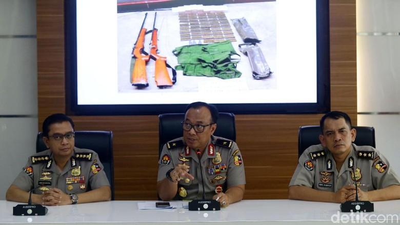 Teroris Novendri Berencana Serang 8 Markas-Pos Polisi di Sumbar