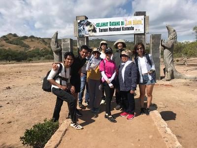 Kepincut Komodo di Pulau Rinca, Vloger Jepang Ogah Pulang
